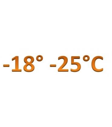 Temperatura -18° -25°C