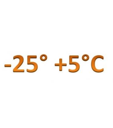 Temperatura -25° +5°C