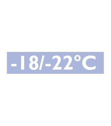 Bassa temperatura negativa -18° -22°C